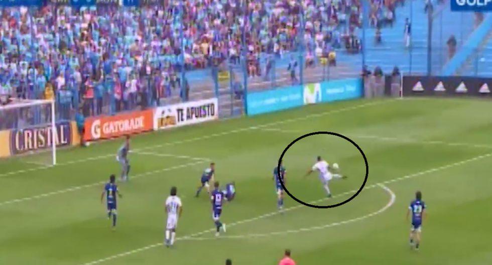 Lionard Pajoy es titular en Alianza Universidad ante Sporting Cristal | Foto: Captura