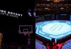 Kobe Bryant será homenajeado durante el UFC 247