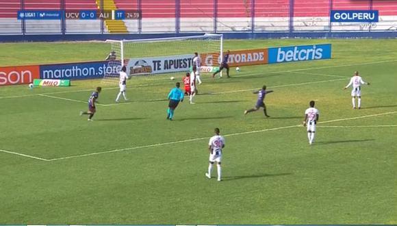 César Vallejo se pone en ventaja ante Alianza Lima (Gol Perú)