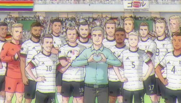 Alemania anunció al plantel que lo representará en los Juegos Olímpicos con un video inspirado en el ánime Súper Campeones (Captain Tsubasa)