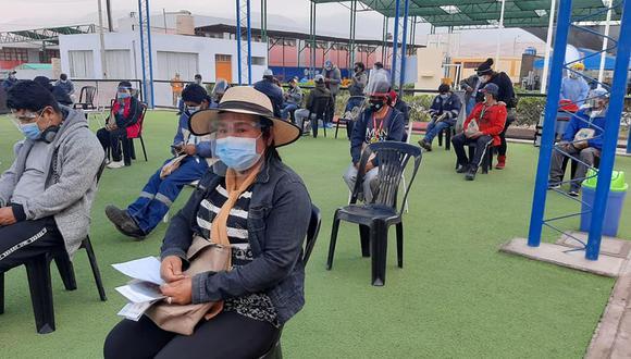 Con la llegada de más vacunas a Arequipa se podrá atender a la población menor de 33 años de edad. (Foto: Geresa Arequipa)