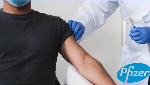 Las vacunas contra la COVID del laboratorio Pfizer llegaron este miércoles al Perú y aquí te contamos quiénes serán las primeras personas en ser vacunadas. FOTO: Captura/Youtube