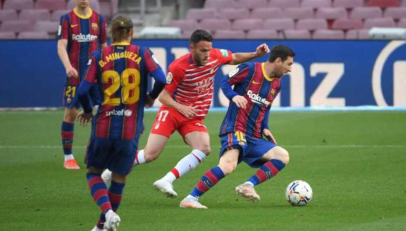 Barcelona vs. Valencia se miden por la jornada 34 de LaLiga. (Foto: AFP)