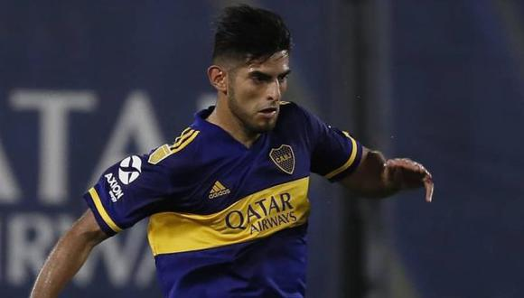 Zambrano estuvo casi un mes como baja de Boca Juniors. (Foto: Boca Juniors)