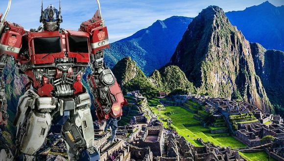 Las grabaciones de la película Transformers ya comenzaron y fue en la ciudadela de Machu Picchu, en el Cusco | Foto: Andina