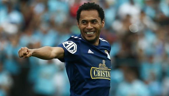 Carlos Lobatón fue el autor del gol de la victoria para Sporting Cristal | Foto: EL BOCÓN