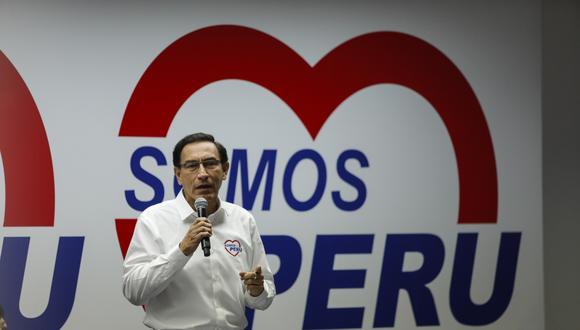 Beto Ortiz le mandó ese mensaje a Rosa María Palacios, quien a través de Twitter especuló con que Martín Vizcarra podría volver a ser presidente.  (Foto: Archivo GEC)