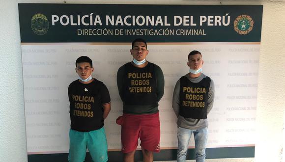 Los tres extranjeros tienen antecedentes policiales.