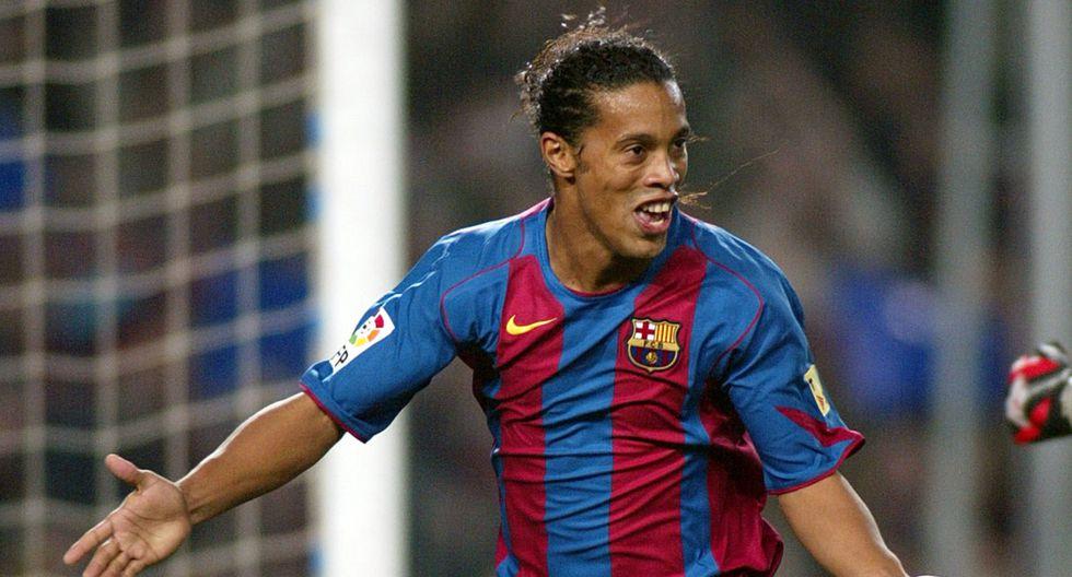 Ronaldinho estaba valorizado en 53,4 millones de dólares. (Foto: AFP)