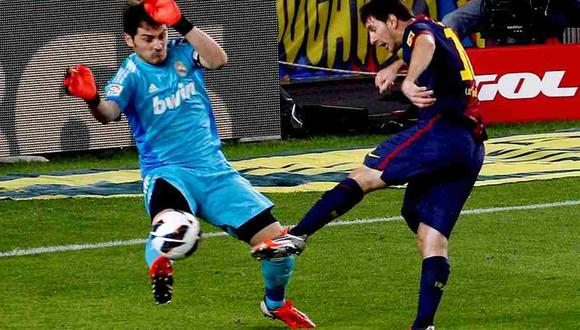 Lionel Messi reconoció la gran trayectoria de Iker Casillas. (Foto: EFE)