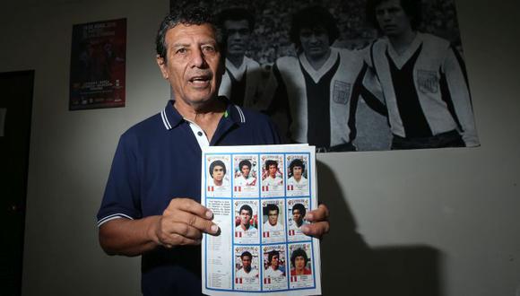 César Cueto jugó con Perú los Mundiales de Argentina 78 y España 82. (Jesús Saucedo)