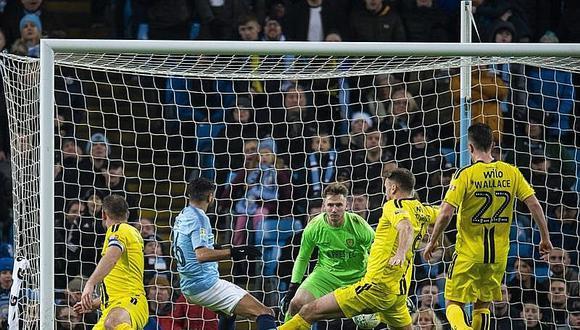 Manchester City derrotó con 9 goles al Burton y pasa a la final