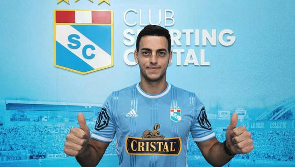 Alejandro Duarte fue presentado oficialmente como nuevo portero de Sporting Cristal. (Foto: @ClubSCristal)