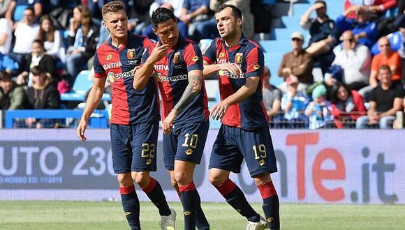Selección peruana: Gianluca Lapadula salva a Genoa con golazo en la Serie A