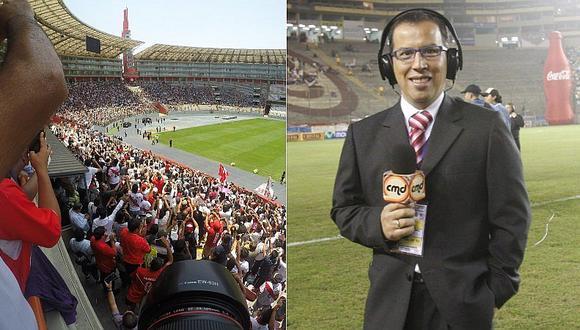 Cabina del Estadio Nacional llevará el nombre de Daniel Peredo