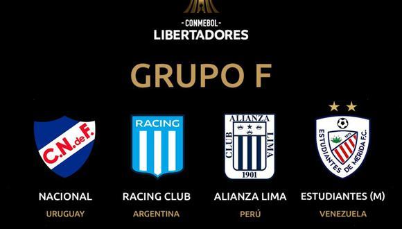 Hoy se jugó la fecha 3 del Grupo F de la Copa Libertadores en donde Alianza Lima y Estudiantes de Mérida fueron los protagonmistas. Así se movió la clasificación de la zona la cual la completan Racing de Avellaneda y Nacional de Uruguay. FOTO: Copa Libertadores