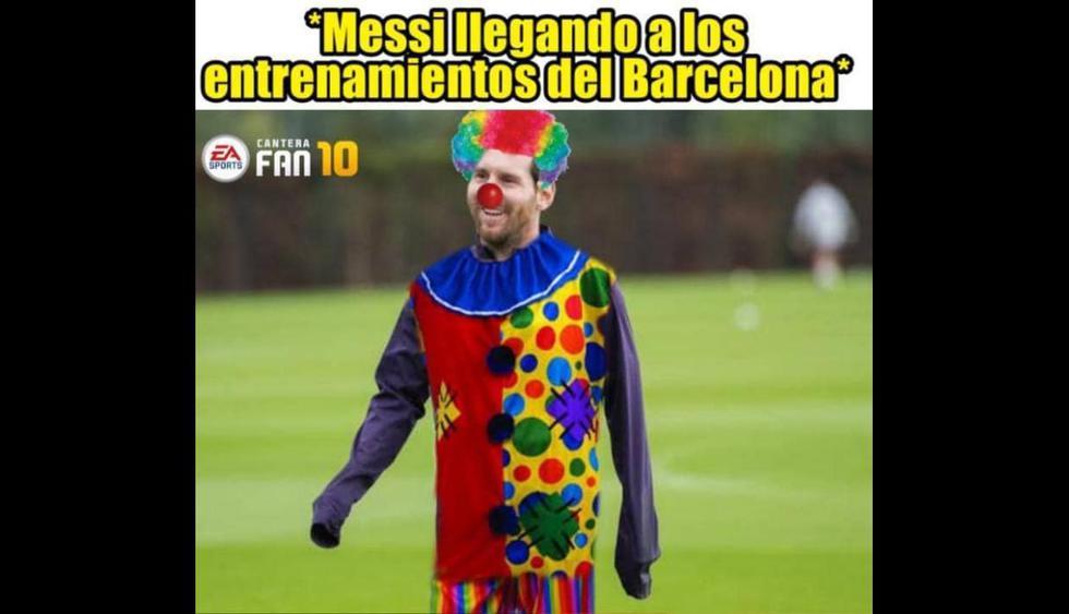 Lionel Messi se queda en Barcelona: los divertidos memes tras la decisión del argentino. (Foto: Facebook)