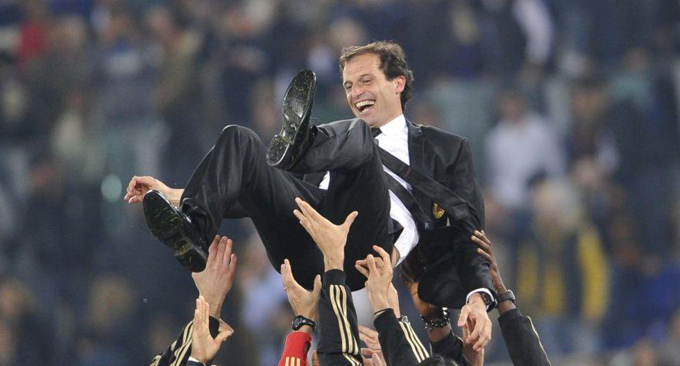 DT: Massimiliano Allegri. (Foto: AFP)