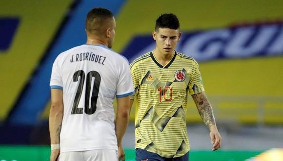 Colombia se ubica séptimo en las Eliminatorias rumbo a Qatar 2022 con cuatro puntos. (Foto: EFE)