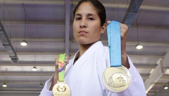 La karateca Alexandra Grande ganó el oro en Toronto 2015 y la plata en Guadalajara 2011. (GEC)