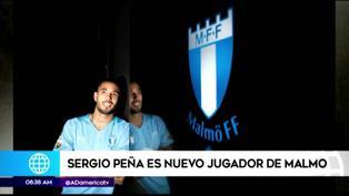 Sergio Peña es el flamante refuerzo del Malmö FF de Suecia
