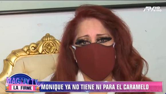 Monique Pardo recibió el SIS tras señalar que se lo negaron pese a ser una persona mayor