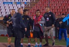 Sport Huancayo vs. Atlético Grau: Ramacciotti y Valencia protagonizan bronca en final de la Copa Bicentenario [VIDEO]
