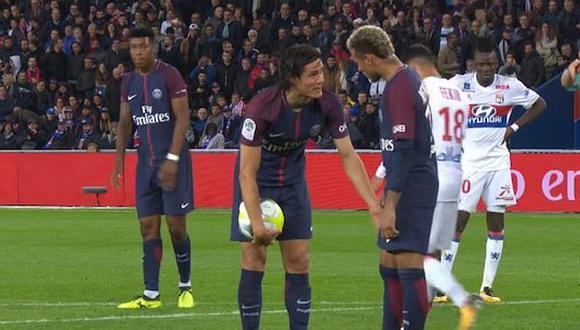 PSG: Cavani y Neymar pelean en dos acciones bastante polémicas [VIDEOS]