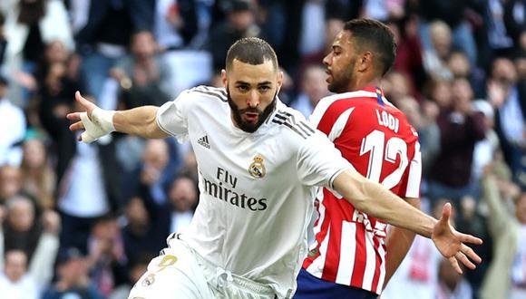Real Madrid - Atlético de Madrid en vivo: hora y TV para ver LaLiga