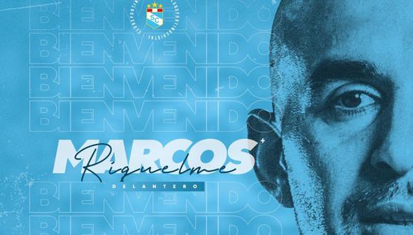 Marcos Riquelme viene de finalizar su segunda etapa en Bolivar. (Foto: Sporting Cristal)