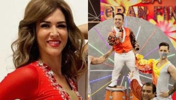 Anahí de Cárdenas y 'Chikiplum' fueron los primeros eliminados de la competencia. (Foto: Instagram).