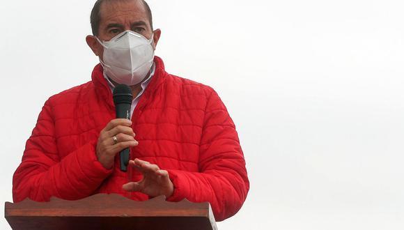 Walter Martos, jefe del Gabinete Ministerial. (Foto: GEC)