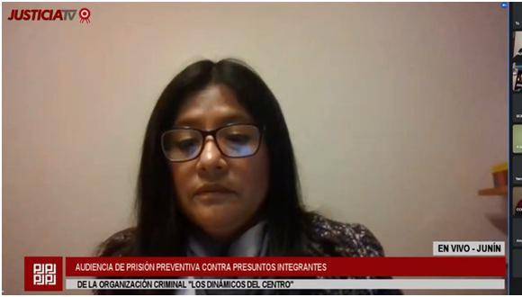 La decisión sobre el pedido de prisión preventiva recae sobre la jueza July Baldeón. (Foto: Justicia TV)