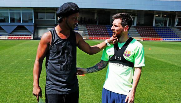 Lionel Messi lamentó el fallecimiento de la madre de Ronaldinho Gaúcho. (Foto: FC Barcelona)