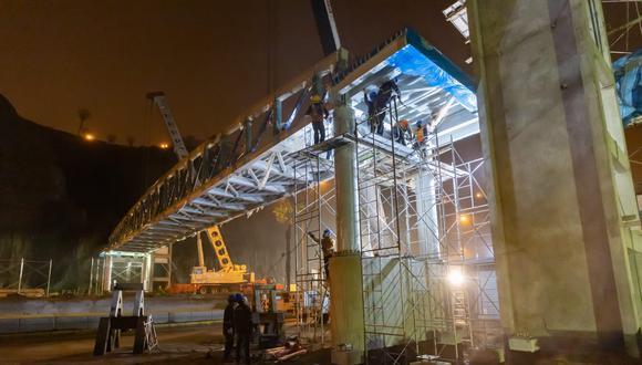 Los puentes serán en beneficio de los más de 149 mil ciudadanos que visitan las playas de la Costa Verde. Foto: Municipalidad de Lima