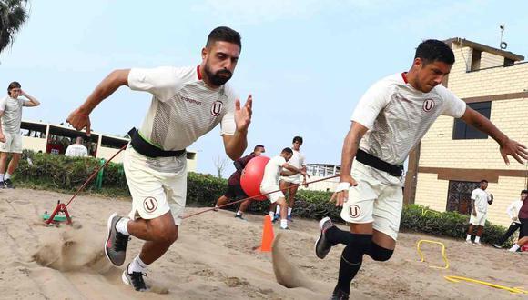 El plantel de Universitario quedó concentrado en Campo Mar. (Foto: @Universitario)