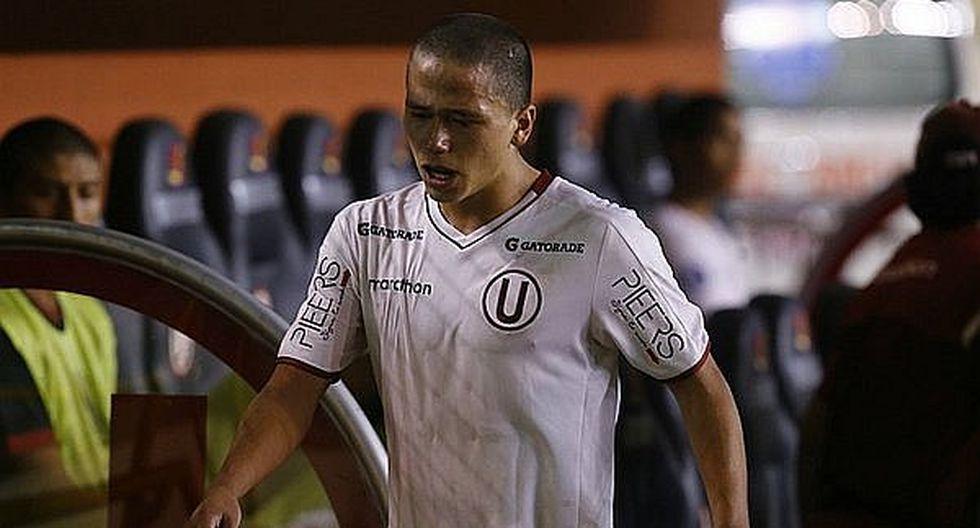 Universitario de Deportes: Paulo De la Cruz sería baja ante la San Martín