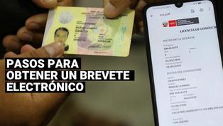 Brevete electrónico: ¿Cuál es el procedimiento para acceder a la nueva licencia de conducir digital?
