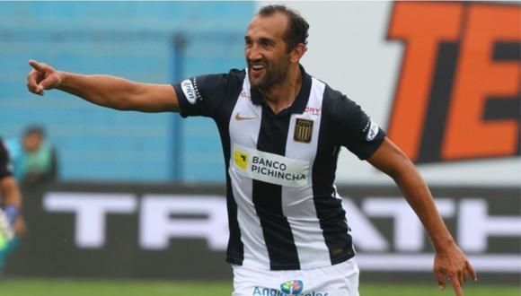 Hernán Barcos lleva anotados tres goles con camiseta blanquiazul. (Foto: Alianza Lima)
