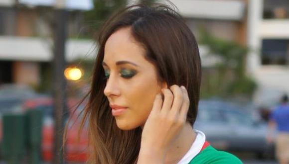 Olinda Castañeda viste con los colores del 'Chicharito' Hernández [FOTO]