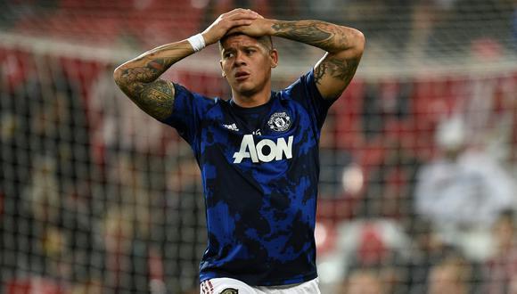 Rojo llegó al United procedente del Sporting de Lisboa en 2014. (Foto: AFP)