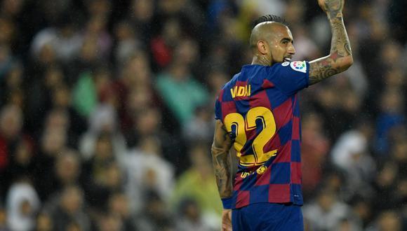 Vidal llegó en 2018 a Barcelona por 18 millones de euros. (Foto: AFP)