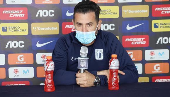 Daniel Ahmed dirigió a Alianza Lima en las últimas jornadas de la Fase 2 de la Liga 1 | Foto: Alianza Lima