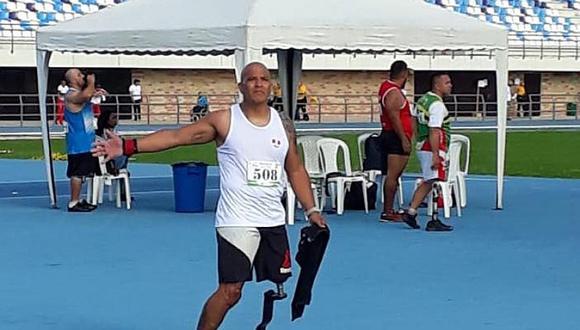 Paralímpico peruano Carlos Felipa obtuvo medalla de oro en Barranquilla
