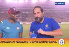 Universitario vs. Ayacucho EN VIVO | Carlos Preciado y el baile que preparó con Luis Trujillo si marca gol en el Monumental | VIDEO