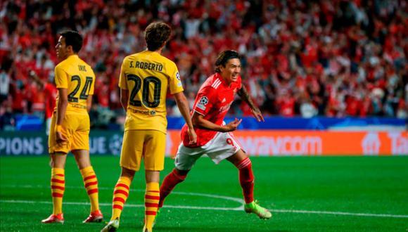 Barcelona vs. Benfica EN VIVO | ONLINE | EN DIRECTO el partido de la segunda jornada del grupo E de la Champions League en el estadio da Luz