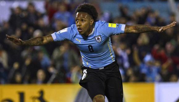 Abel Hernández jugó el Mundial 2014 con la selección de Uruguay. (Foto: AFP)