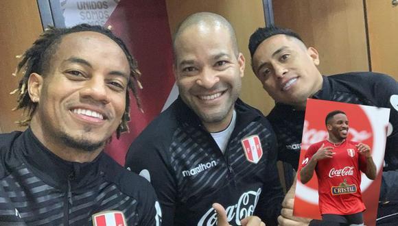 Alberto Rodriguez se mostró feliz de haberse reencontrado con Christian Cueva y Andre Carrillo en la Videna, subió foto a Instagram y Jefferson Farfán lo troleó delante de todos.