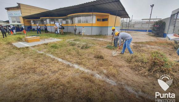 El alcalde de Punta Hermosa, Jorge Olaechea, detalló que la planta de oxígeno entrará en funcionamiento el 14 de mayo.  (Foto: Municipalidad de Punta Hermosa/Facebook)