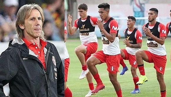 Ricardo Gareca presente en el partido de la Sub-20 entre Perú y Argentina
